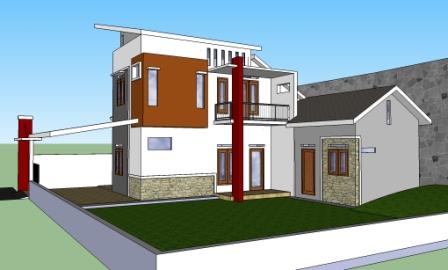 rumah biasa diubah jadi minimalis modern eramuslim