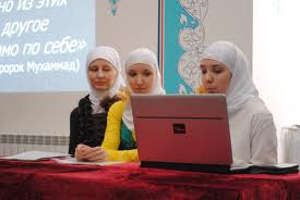 muslimah di rusia