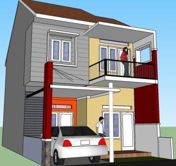 Rumah Minimalis 2 Lantai Void renovasi rumah 1 lantai jadi 2 lantai eramuslim
