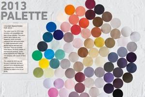 Trend warna 2013. Apa warna anda?
