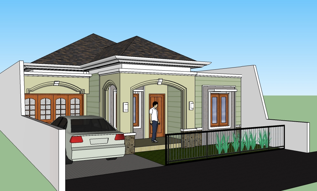 Rumah Modern Bergaya Klasik