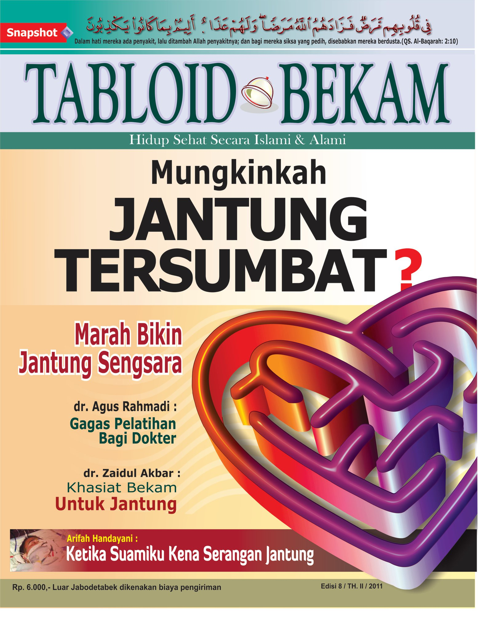 Edisi 8 tabloid bekam