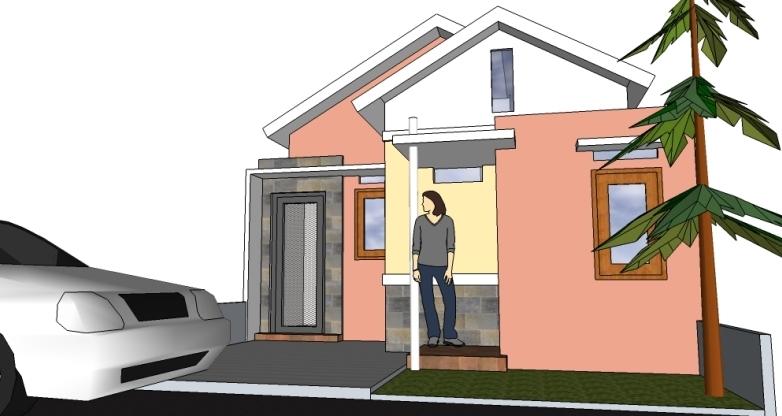 membuat rumah di tanah 6 x 12 m   eramuslim