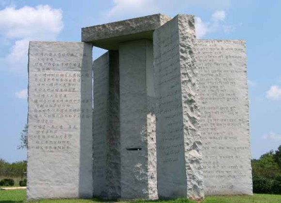 1 Georgia-Guidestones