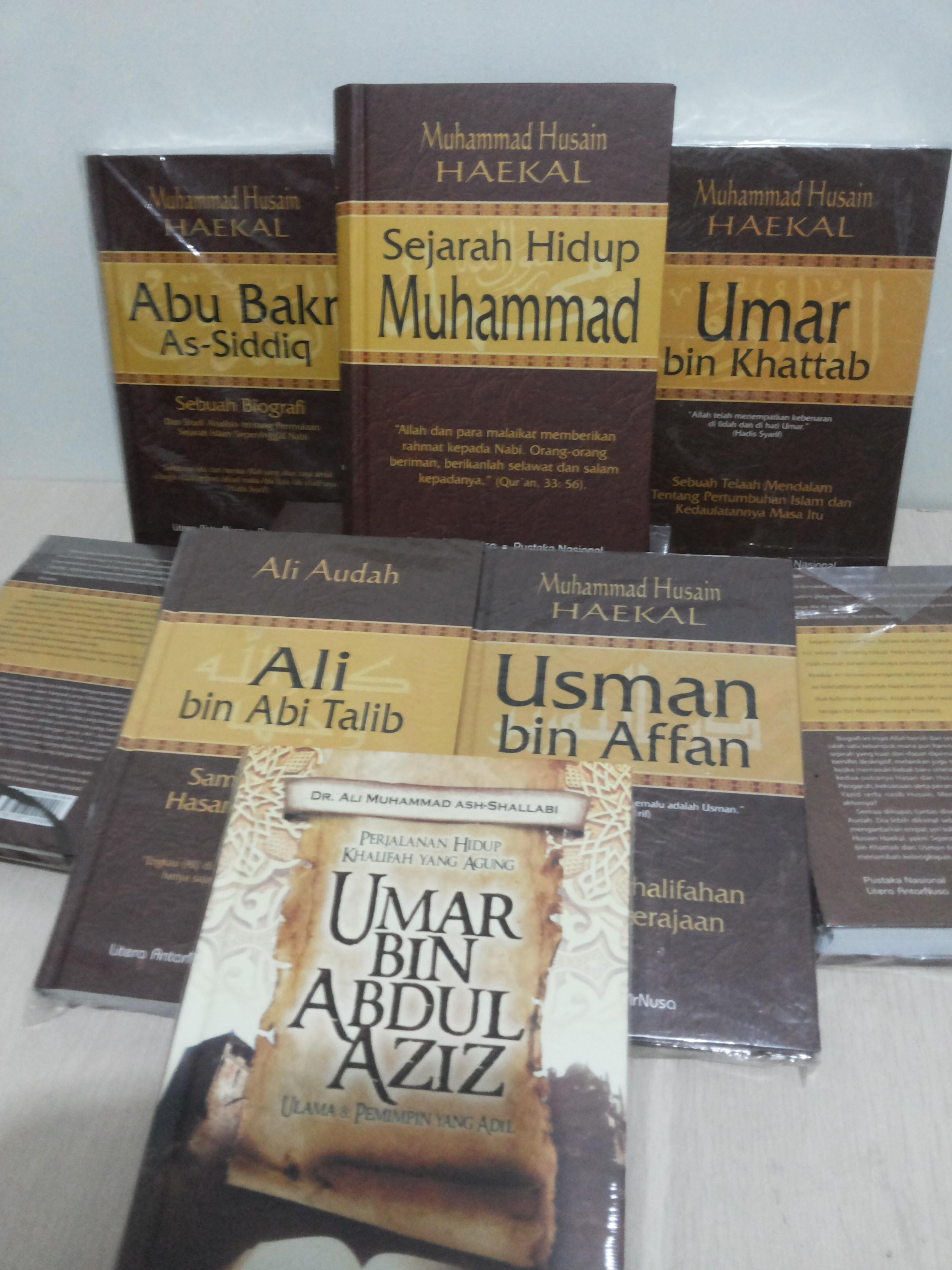 Resensi Buku : Kisah Muhammad SAW bersama Para Khalifahnya, Referensi