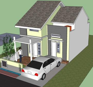 Renovasi Rumah Minimalis 2 Lantai Type 36  renovasi murah rumah tipe 36 eramuslim
