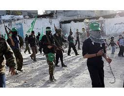 Kelompok Hamas yang menguasai Jalur Gaza menangkap sejumlah militan ...