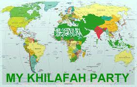 khilafah map
