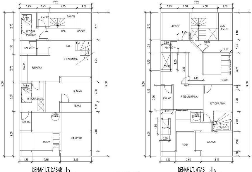 Contoh Denah Rumah Kantor  renovasi rumah plus ruang usaha eramuslim