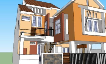 renovasi rumah plus ruang usaha eramuslim