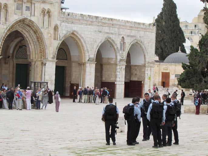 غضب فلسطيني إزاء الاقتحام الذي تم في بداية شهر رمضان