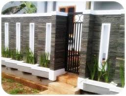 bangun rumah pagar minimalis batu alambangun rumah pagar minimalis batu alam