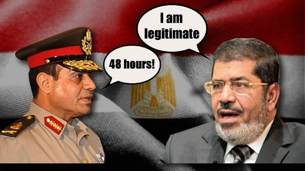 Kronologi Kudeta Militer atas Presiden Mursi dan Penggagalan