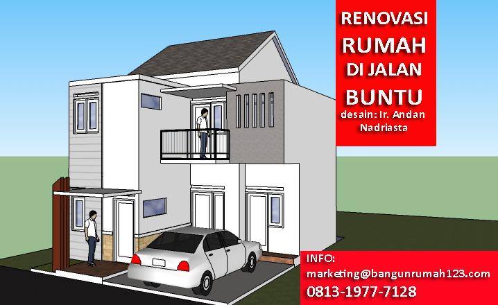 renovasi rumah di jalan buntu