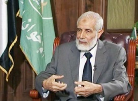 Mahmoud Ezzat Brotherhood's Interim Leader