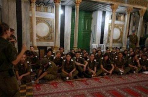 israel di masjid ibrahimi
