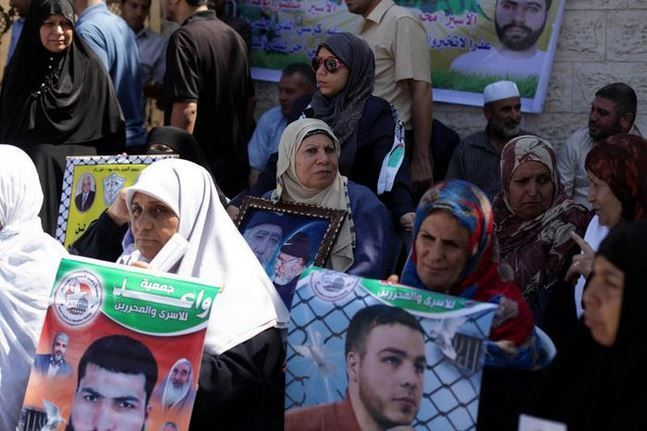 keluarga tahanan asal gaza