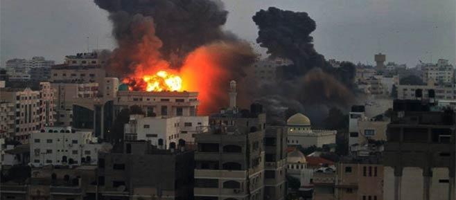 serangan ke gaza