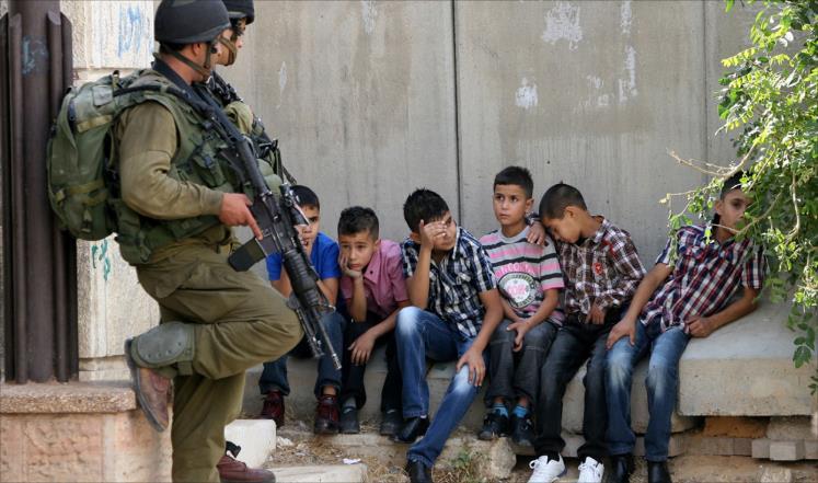 tahanan anak palestina