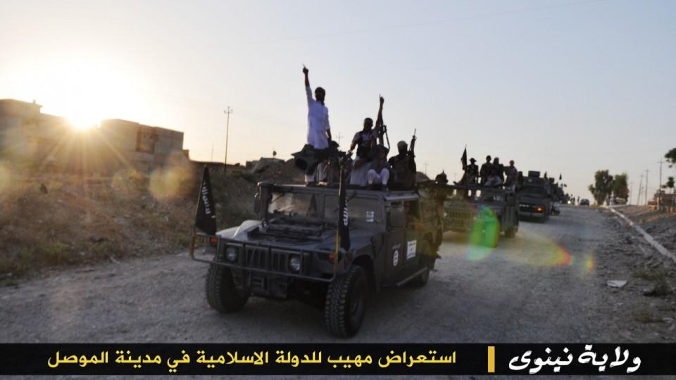 parade militer Sunni 9