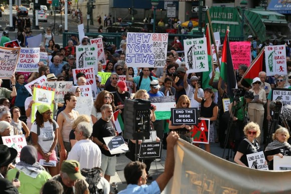 Solidarity With Gaza in New York