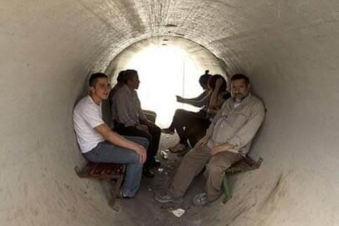 terowongan gaza