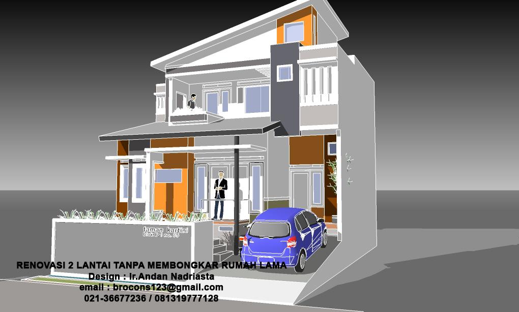 Rumah Minimalis 2 Lantai Void konsultasi arsitektur renovasi 2 lantai tanpa membongkar