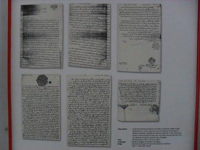 Dokumen penting bukti hubungan Atjeh Darussalam dengan Turki Utsmaniyah