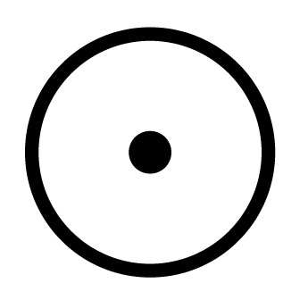Circle with Dot