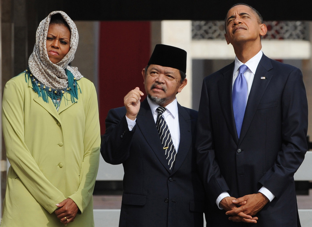 Barack Obama, Michelle Obama, Ali Mustafa Yaqub