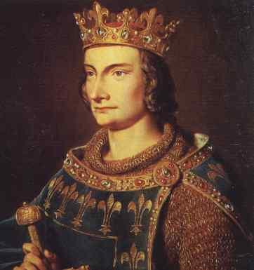 King Philip Le Bel, bersama Gereja menumpas Templar.