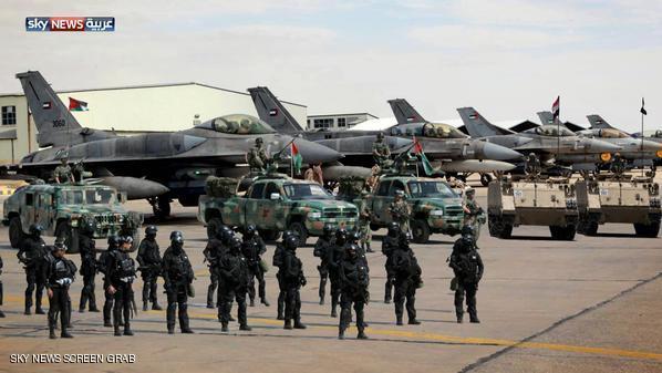 kekuatan militer arab