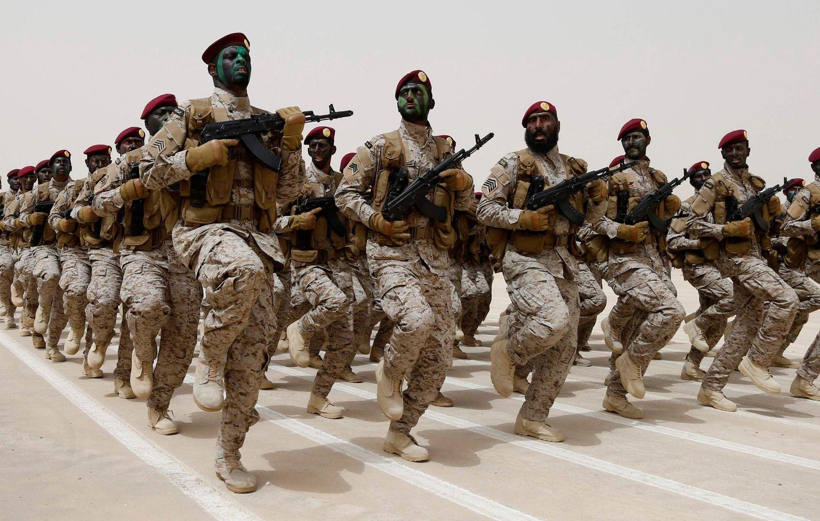 pasukan Arab saudi