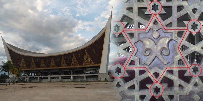 simbol-diduga-bintang-yahudi-di-masjid-raya-sumbar-gegerkan-warga
