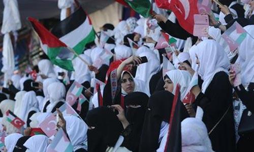 pernikahan massal di Gaza