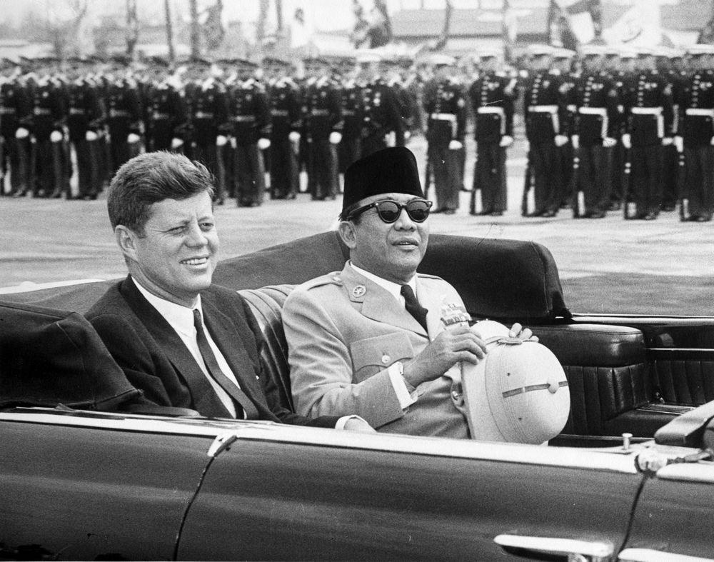 JFKdan-Soekarno