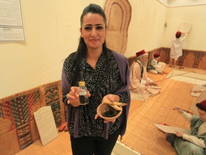 Museum Pendidikan Tunisia - tinta dan alat tulis yang digunakan