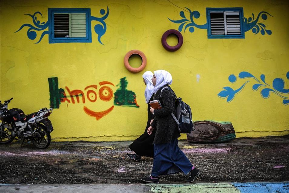 Grafitti Gaza 1