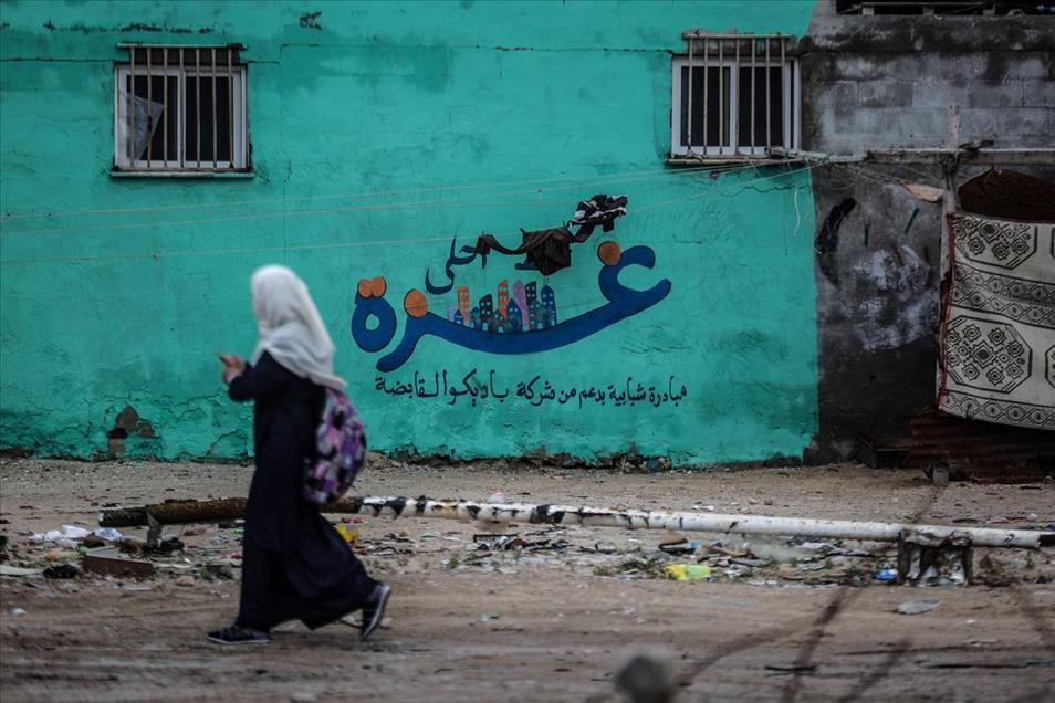 Grafitti Gaza 5