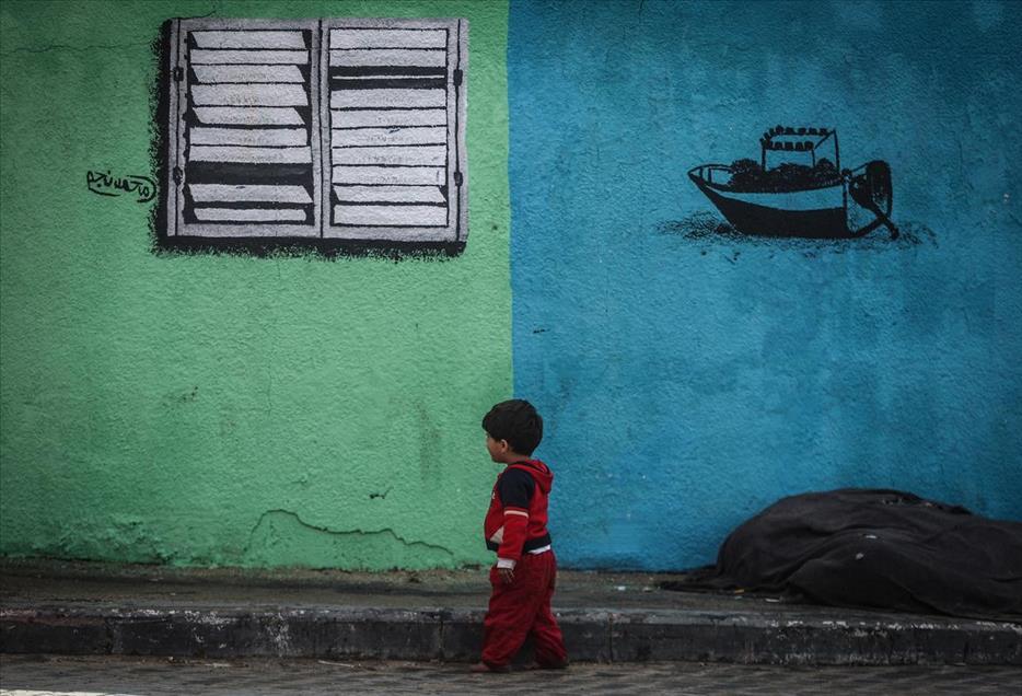 Grafitti Gaza 8