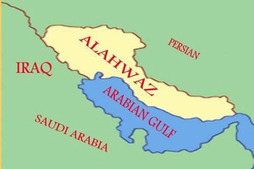 map ahwaz