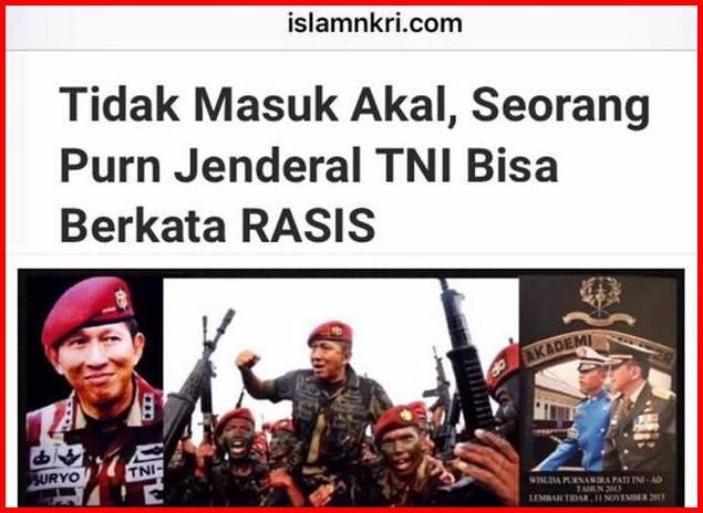 Suryo Prabowo dituduh RASIS gara-gara postingannya di Facebook ...