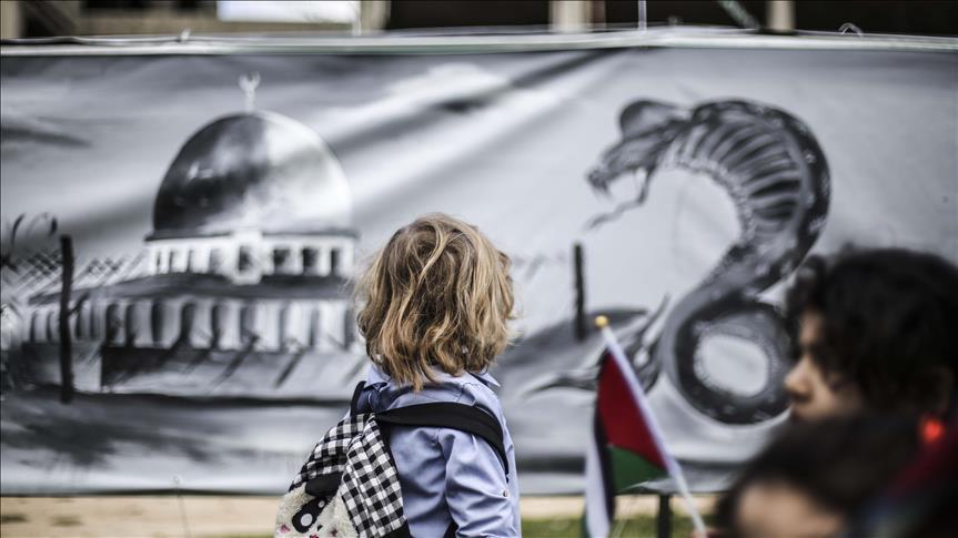 Grafiti Seniman Gaza