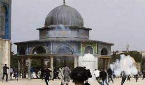 Zionis Israel serang Aqsha
