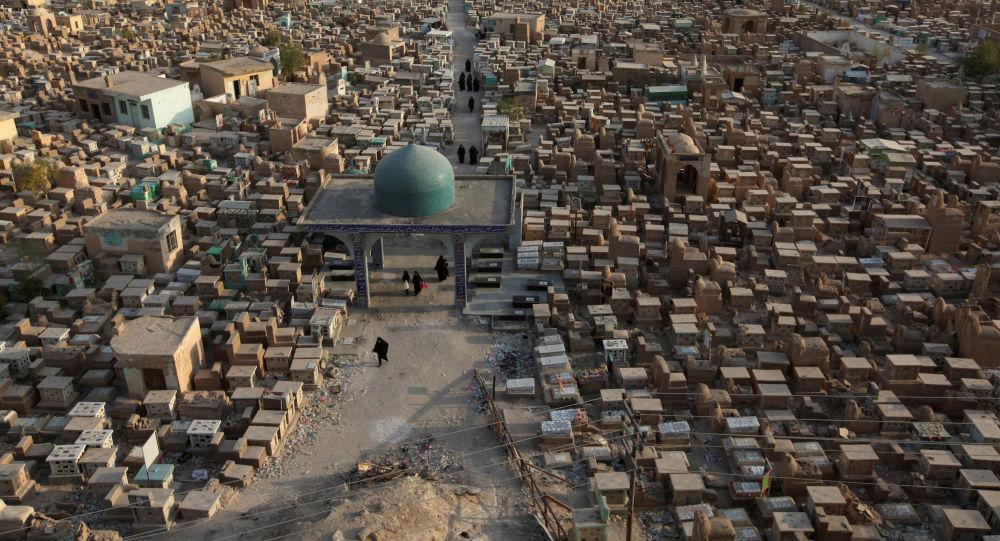 Wadi Salam - tampak seperti sebuah kota