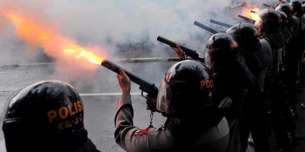 tembakan-gas