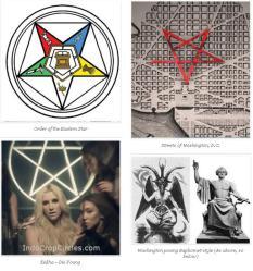 simbol pentagram bintang