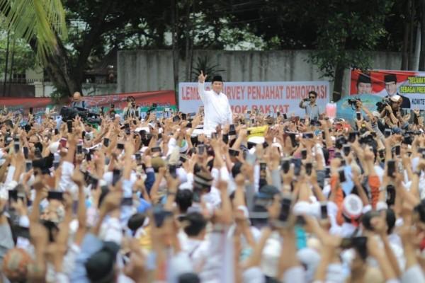Prabowo Tutup Rapat Pintu Negosiasi dengan Kubu Jokowi